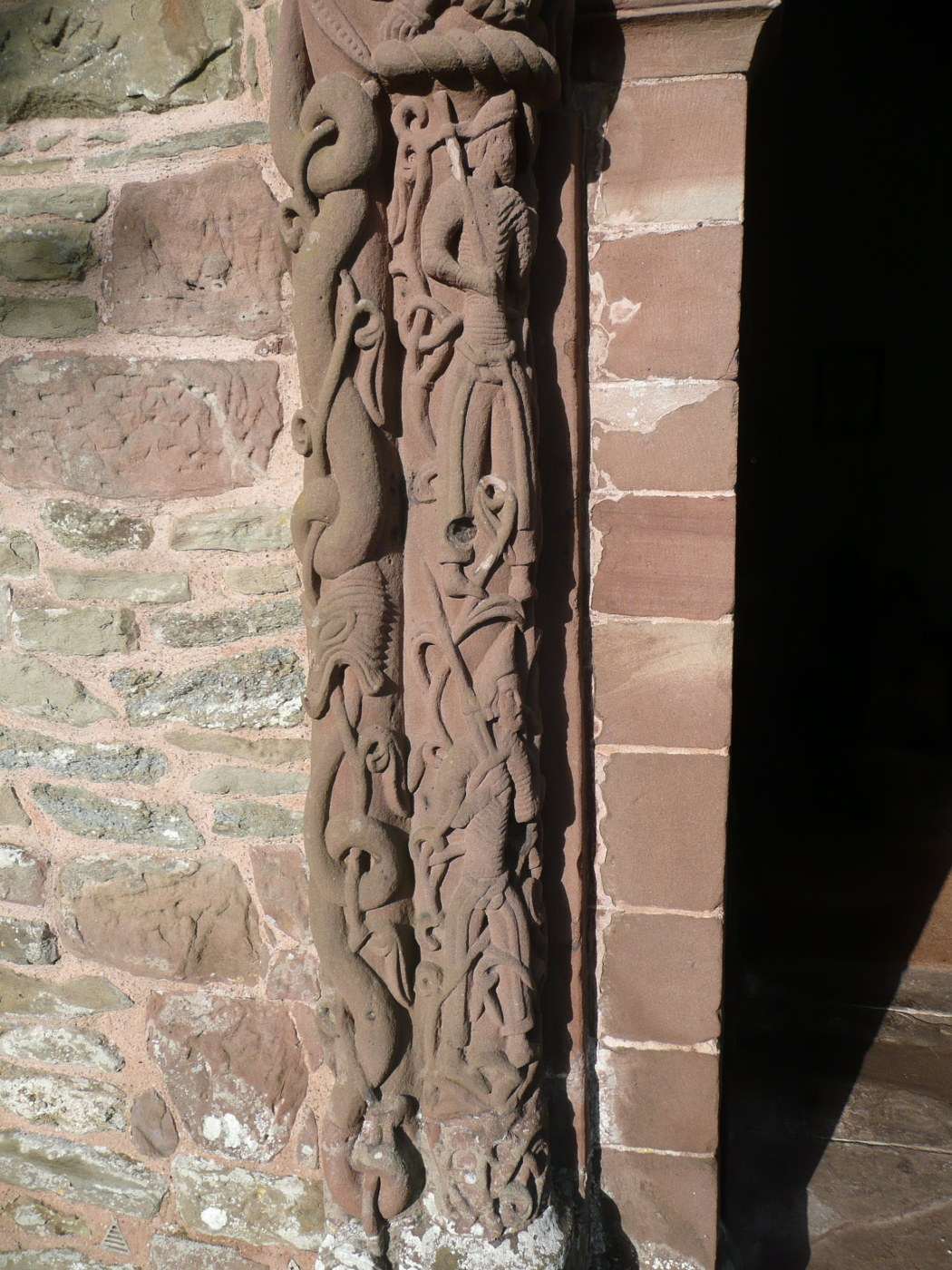 {Soldiers on the door, Kilpeck Church}